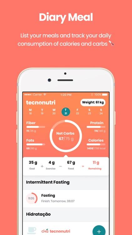 Technutri - Keto and Low Carb screenshot-0