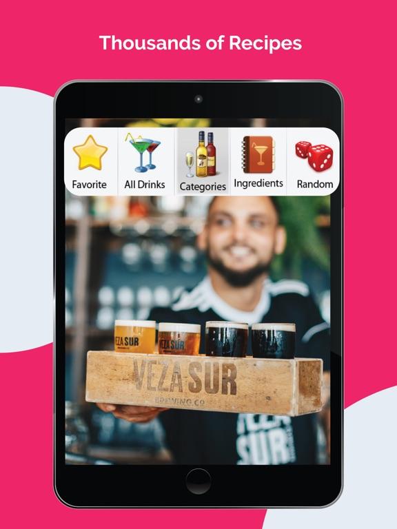 8,500+ Drink & Cocktail Recipes Free screenshot