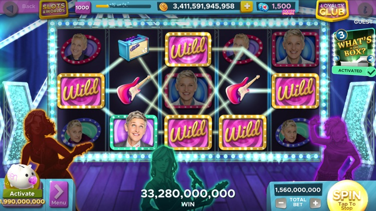 Ellen's Road to Riches Slots screenshot-0