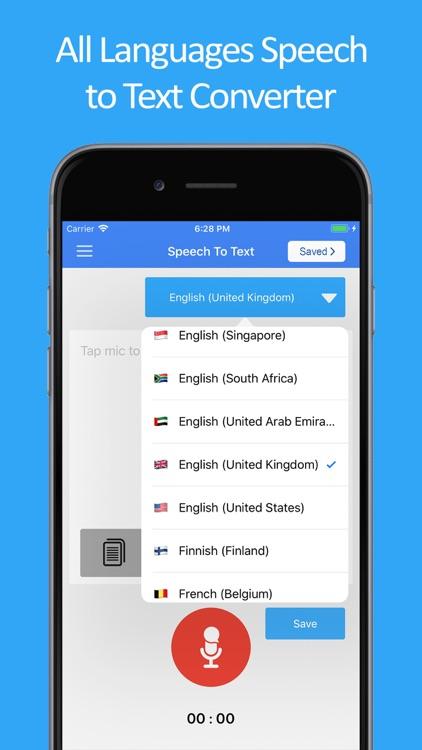 Speech to Text : Speak Notes screenshot-7