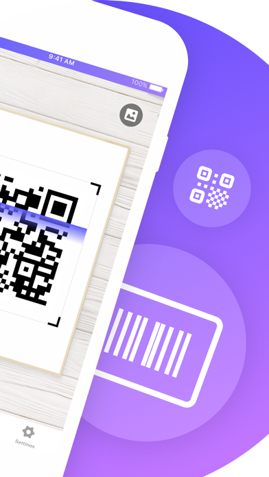 QR Code Reader゜ screenshot two