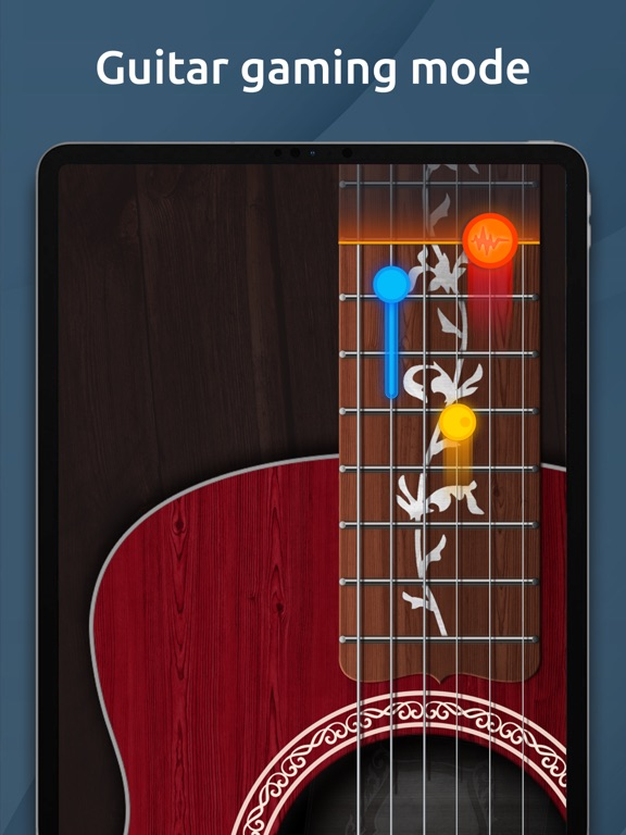 Chromatic Guitar Tuner : Tune your Ukulele, Acoustic and Electric Guitars ! screenshot