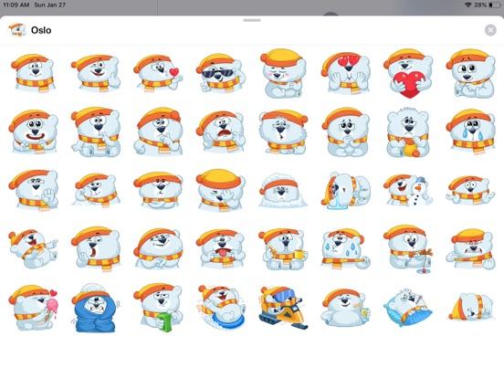 Kitty Bear Emoji Funny Sticker screenshot 4