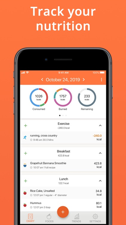 Cronometer · Nutrition Tracker