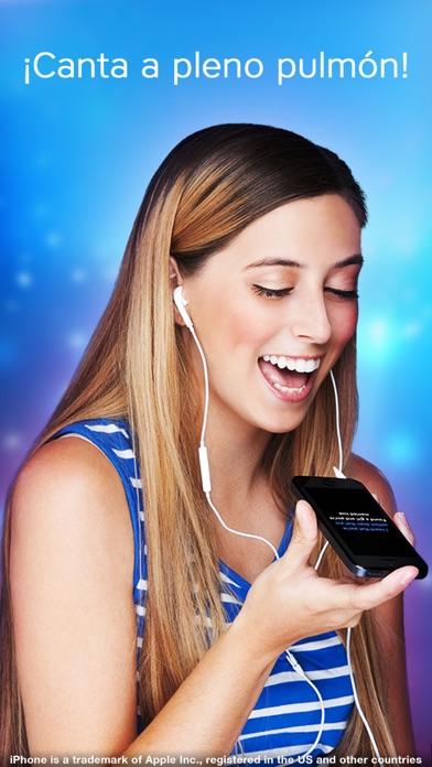 Screenshot for Karaoke - Canta las canciones in Chile App Store