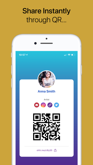 O'Hi! - Connect with QR Screenshots