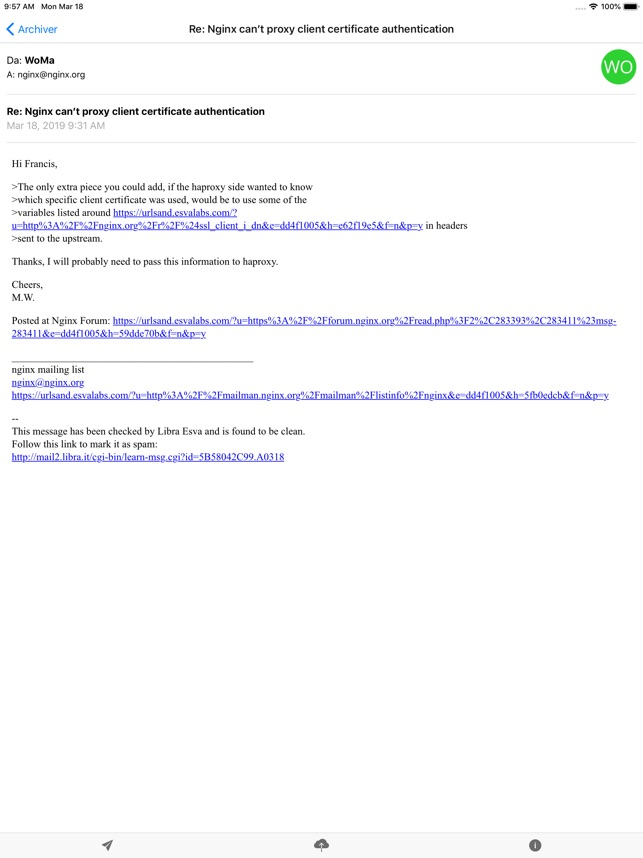 Libraesva Email Archiver App on the App Store