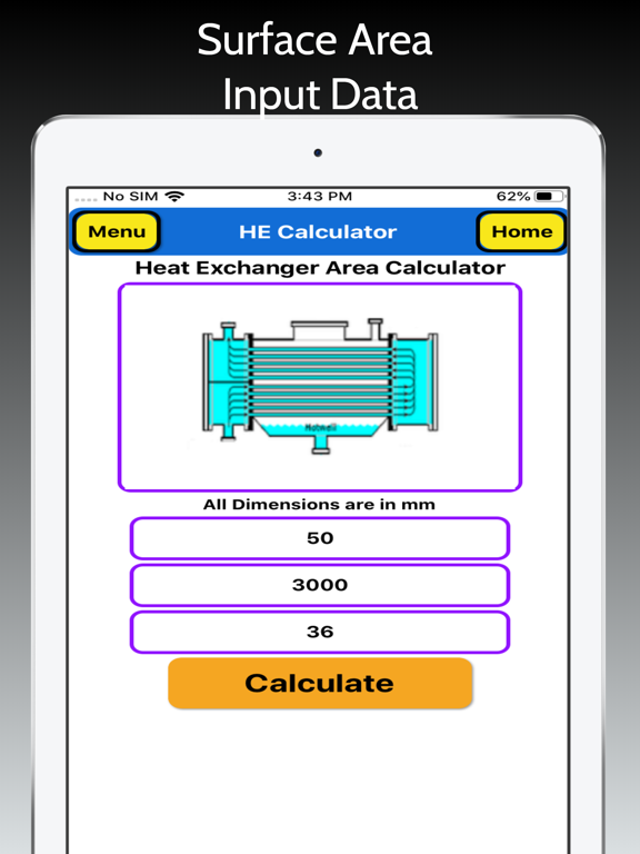 Heat Exchanger Area screenshot 13