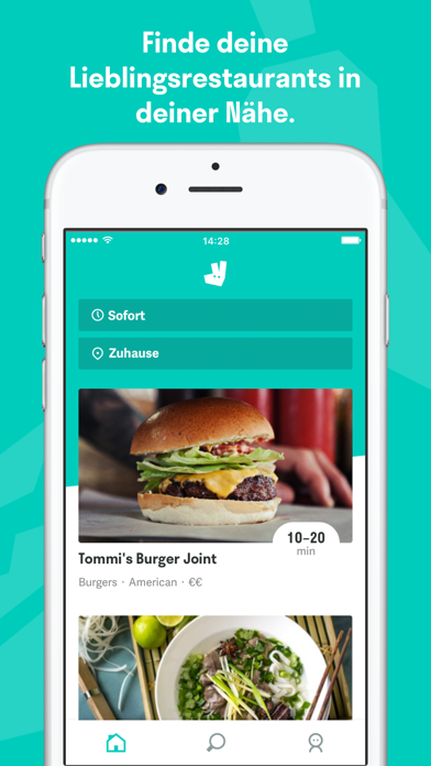 Screenshot for Deliveroo in Germany App Store