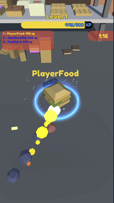 Food.io - Food Battle screenshot 14