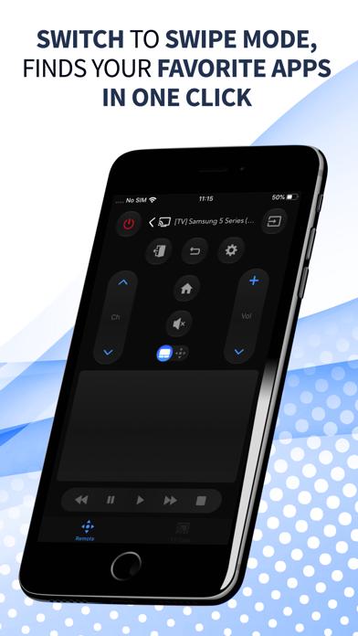 Smart TV Remote Control App Screenshot