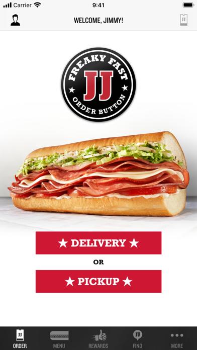 Jimmy Johns Sandwiches review screenshots