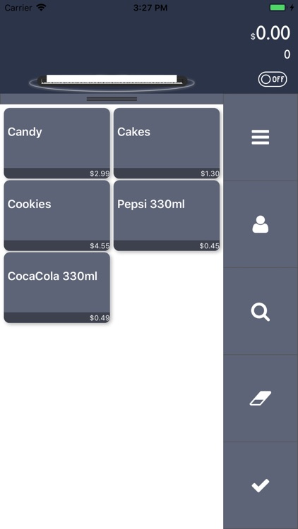 TinyPOS Make & Track Receipts