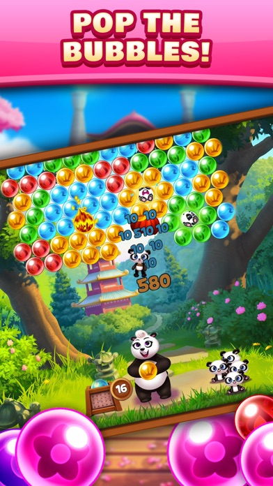Panda Pop! Bubble Shooter Game-0