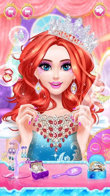 Princess dress up fashion game