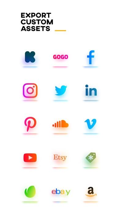 LogoScopic – Logo maker.のおすすめ画像10