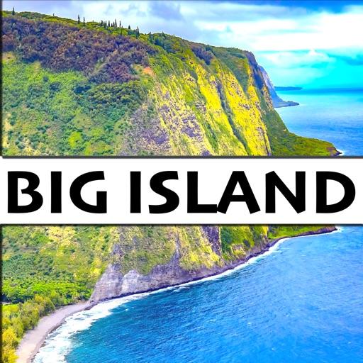 Big Island, Hawaii - Route Map