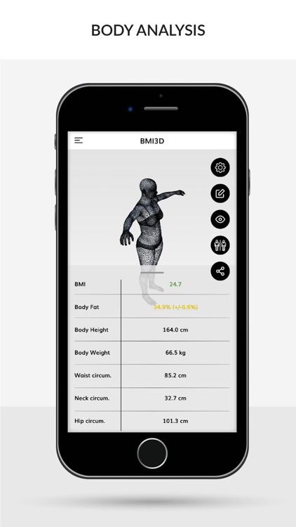 BMI 3D (Body Mass Index 3D) screenshot-4