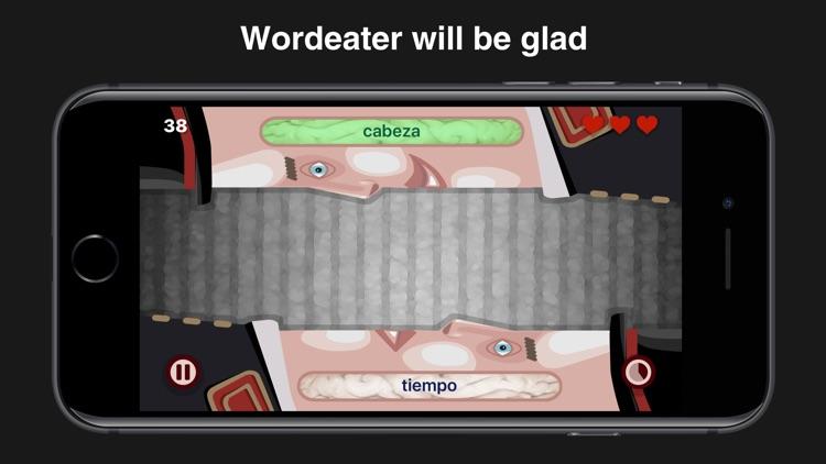 Wordeaters: Spanish & French screenshot-3