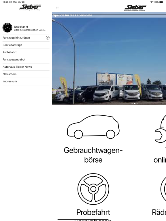 Autohaus Sieber LA - DGF - MAI screenshot 4