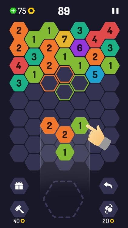 UP 9 - Hexa Puzzle! screenshot-1