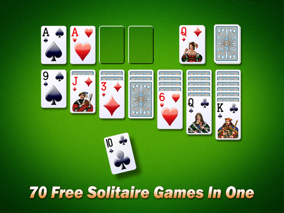 Ipad Screen Shot Solitaire City 0