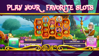 Willy Wonka Slots Vegas Casino Screenshot