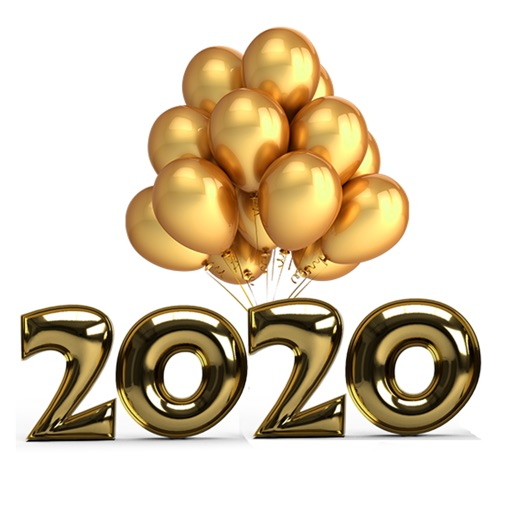 Happy New Year 2020 Sticker