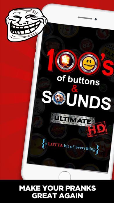 100's of Buttons & Sounds HDのおすすめ画像1