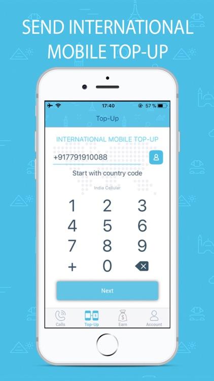 Bluee International Calls screenshot-4