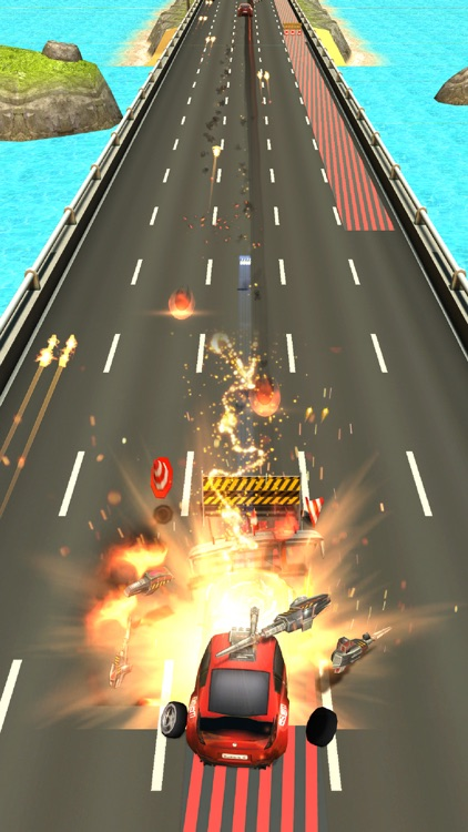 Car Riot Death Race 3D