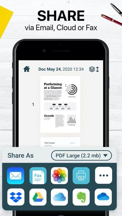 Easy Scanner PDF Document Scanのおすすめ画像3