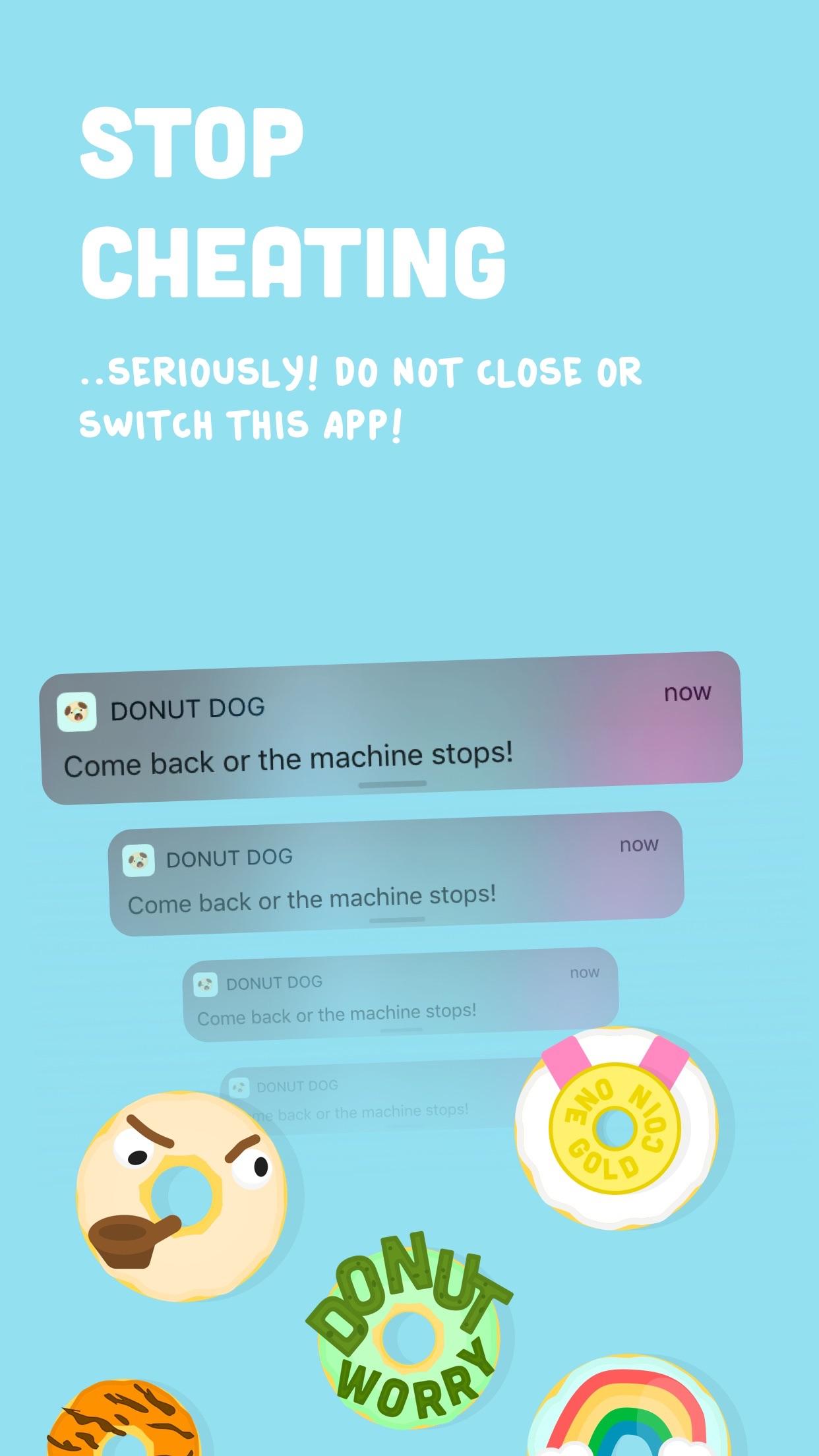 Donut Dog: Feed your focus! Screenshot
