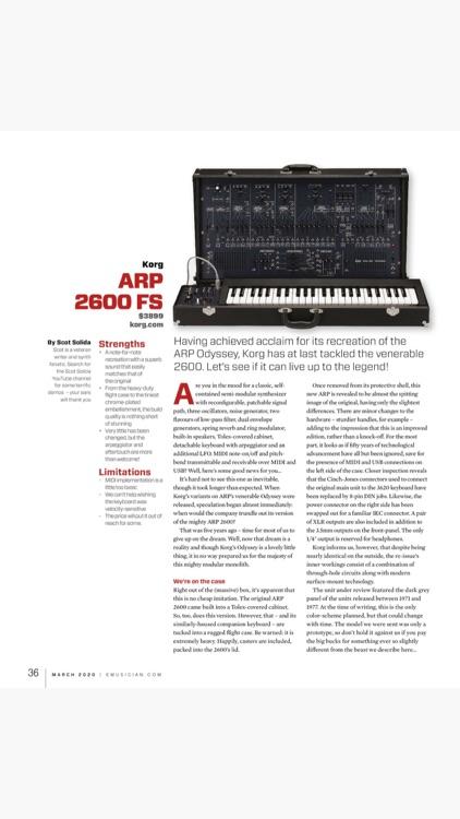 Keyboard Magazine screenshot-7