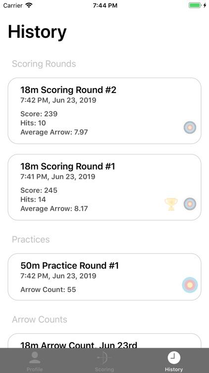 Rise - Archery Scoring Tracker screenshot-5