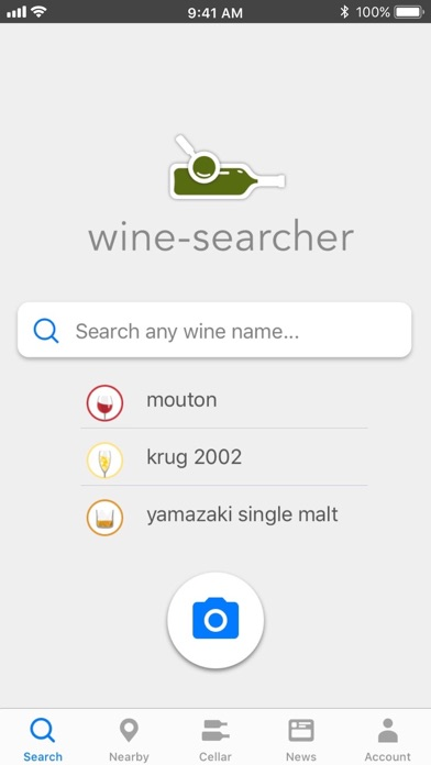 Wine-Searcher Screenshot