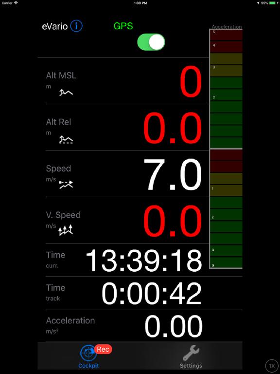 eVario - Variometer Paraglider screenshot 11