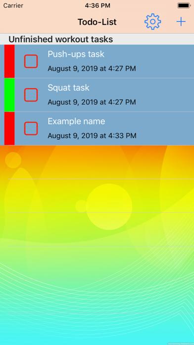 Entraînement quotidien screenshot 1