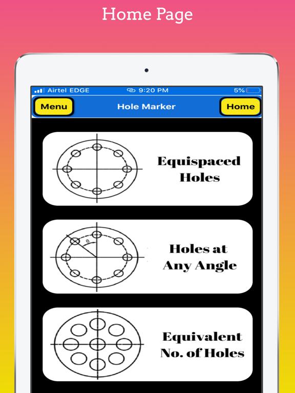Flange Hole Marker Pro screenshot 8