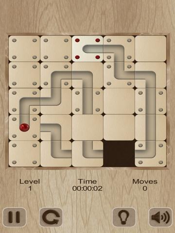 Скачать игру Roll the labyrinth ball