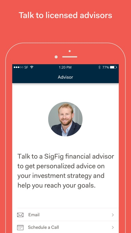 SigFig Wealth Management screenshot-4