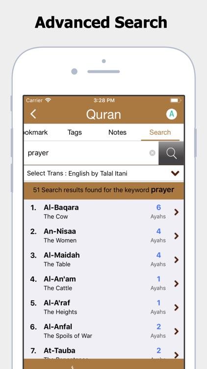 Al Quran App screenshot-4