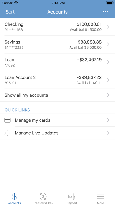 Lee Bank Mobile BankingScreenshot of 3