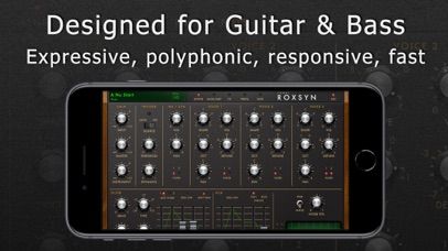 Roxsyn Guitar Synthesizer screenshot 2