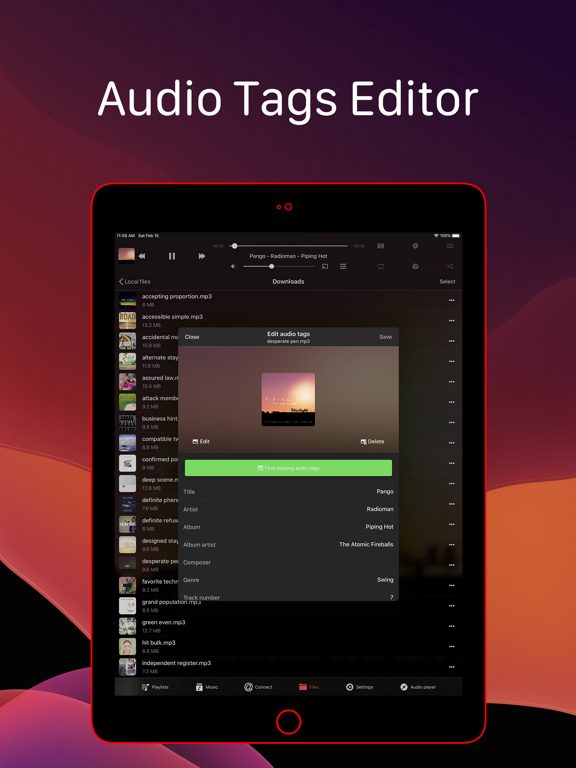 Evermusic Pro: offline music Screenshots