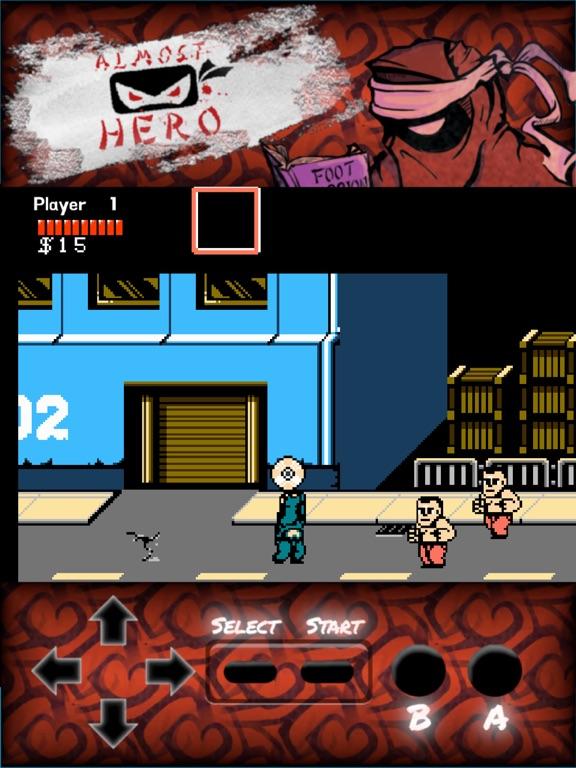 Almost Hero: Retro Hero screenshot 8