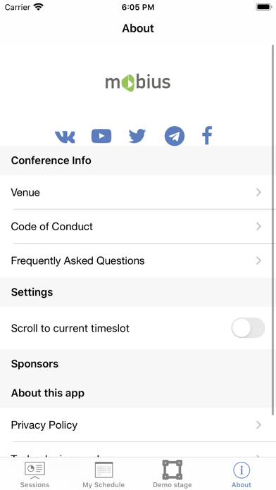 Mobius Conference screenshot #5