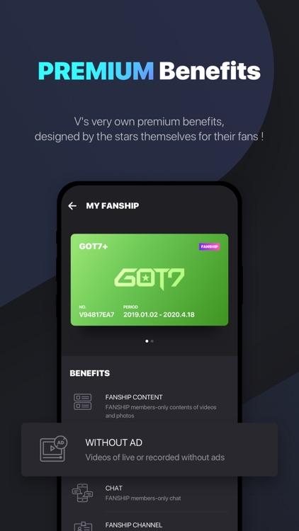 V LIVE - Global Star Live app screenshot-3