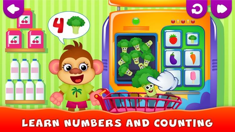 Kids Games! Learning 4 Toddler screenshot-3