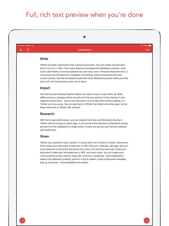 iTextEditors iPhone and iPad text code editors and writing